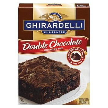 Ghirardelli Double Chocolate Brownie Mix - 20 oz.