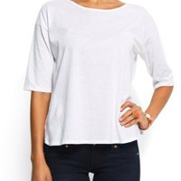Mango Women's Cotton T-shirt