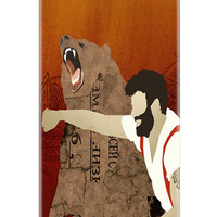 iPhone 5c Case, Haymaker Phone Case, Man Punching Bear