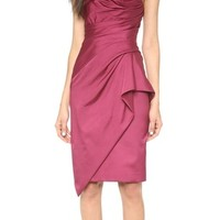 Strapless Hand Draped Dress