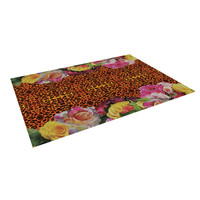 "Nina May ""New Rose Eleo"" Indoor / Outdoor Floor Mat"