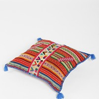 Peruvian One-Of-A-Kind Throw Pillow