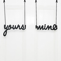 Yours and Mine Hooks - Urban Outfitters