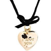 Dolce & Gabbana Heart Pendant Necklace - 			        	Festival Fashion Shop