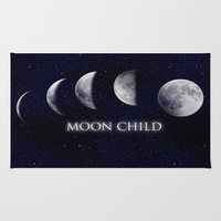 Moon Child Area & Throw Rug by DuckyB (Brandi)