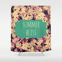 Summer Bliss Shower Curtain by Josrick