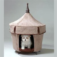 Cafe Au Lait Pet Tent