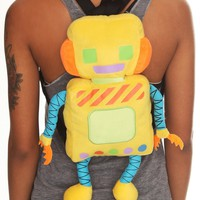Robot Plush Backpack