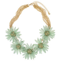 Mint Blooms Necklace