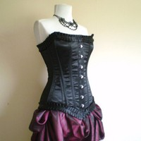 MADE TO ORDERVivienne Black Pleat CorsetMade To by Innerversion
