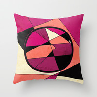 Pick up the Pieces Throw Pillow by DuckyB (Brandi)