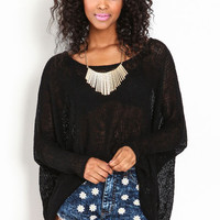 LIGHT KNIT SWEATER TOP