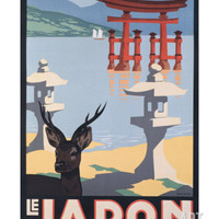 Le Japon Giclee Print by P. Erwin Brown at Art.com