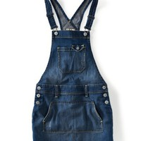 Denim Skirt Overalls - Aeropostale