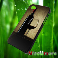 Wine Bottle /MISSUMORE,Accessories,CellPhone,Cover Phone,Soft Rubber,Hard Plastic,Soft Case,Hard Case,Samsung Galaxy ,iPhone/23okto8