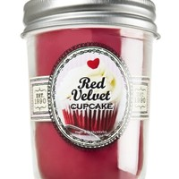 Mason Jar Candle Red Velvet Cupcake