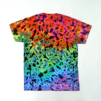 Tie Dye Shirt- Medium Rainbow Scrunch