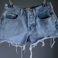 Calvin Klein Mid-High Waisted Shorts
