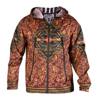 SULTAN ANORAK JACKET - Multi-Color - CROOKS AND CASTLES