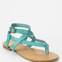 We Who See Crisscross Thong Sandal - Urban Outfitters