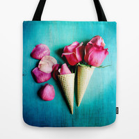 Double Date Tote Bag by Olivia Joy StClaire