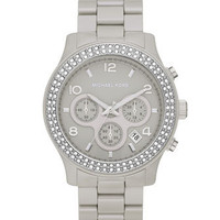 Michael Kors Ceramic Runway Chronograph Watch - Michael Kors