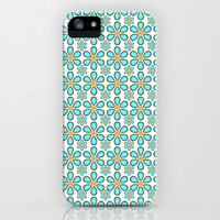 Luxury Flowers Pattern iPhone Case & iPod Case by Danflcreativo