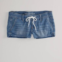 American Eagle - Drawstring Denim Shortie