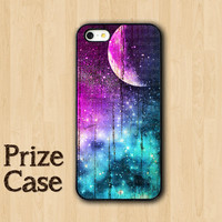 GALAXY IPHONE CASES Nebula Space And Old Wooden Case iPhone 5S Case For iPhone Flower iPhone 5 iPhone 5c iPhone 4s iPhone 4 Samsung S4 Cover