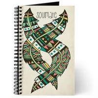 Soulmate Feathers Journal> Pom Graphic Design