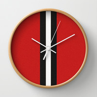 Re-Created Interference ONE No. 1 Wall Clock by Robert S. Lee
