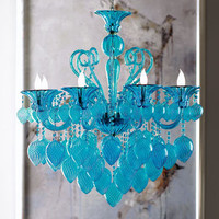 """Modern Glamour"" Chandelier - Horchow"
