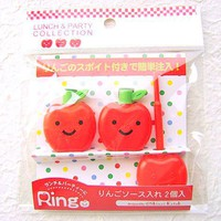 Shinzi Katoh Bento Sauce Apple Bottles