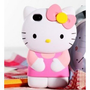Hello Kitty iPhone 4S/4G/4 Silicon Hard Case/Cover/Faceplate/Protector