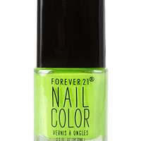 Electric Lime Nail Polish
