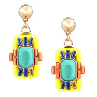 Neon Manhattan Earrings