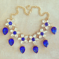 Sapphire Treasures of a Princess Necklace