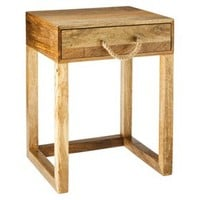Threshold™ Accent Table With Rope Handle - Natural