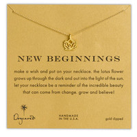 Dogeared 'Reminder - New Beginnings' Boxed Pendant Necklace | Nordstrom