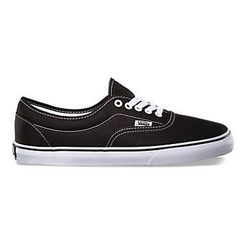 Vans Canvas Lo Pro Era (Black/White)