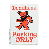 Grateful Dead - Dancing Bear Parking Sign on Sale for $14.99 at HippieShop.com