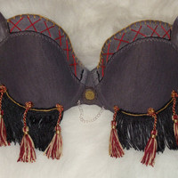 Tribal Dance Bra Maya by RubyLake on Etsy