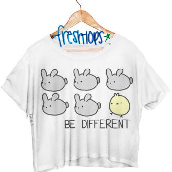 Be different Crop Shirt