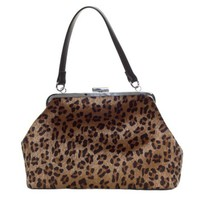 """Betsy Purse"" by Sourpuss Clothing (Leopard)"