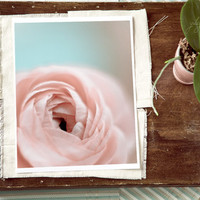 Dreamy flower photo romantic print gift soft pink by GoldenSection