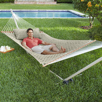 Quilted-Weave Hammock Package