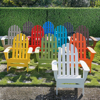 POLYWOOD Folding Adirondack Chair