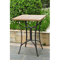 Barcelona Resin Wicker Bar Bistro Table