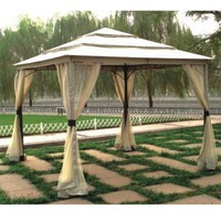 10'x10' Three Tier Gazebo with Insect Screen