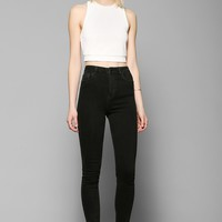 Light Before Dark Super High-Rise Skinny Jean - Black - Urban Outfitters
